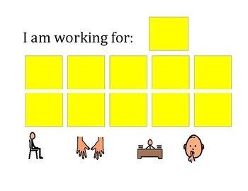 Token Board-Appropriate classroom behavior-Version 2