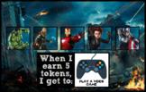 Token Board - Avengers Theme