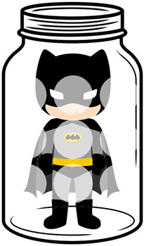 Token Board - Batman Jar