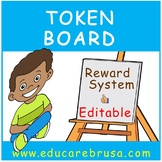 Following Directions Token Board (Editable)