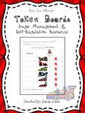 Token Board Anger Management Chart - Anger/Keeping Calm -