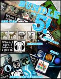 Token Board Bundle - Dinosaurs, Minecraft, Space, Magic &