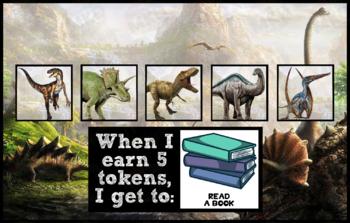 Token Board - Dinosaur Theme