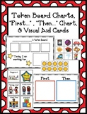 """Token Board, """"First"""", """"Then""""..., & Visual Aid Task Cards f"""