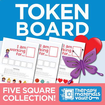 Token Board Collection: 12 Themes Included