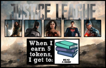 Token Board - Justice League Theme