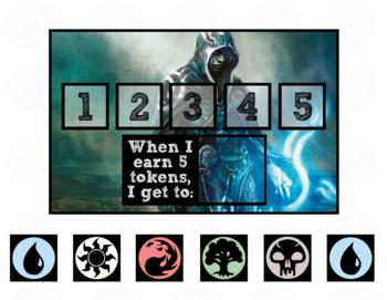Token Board - Magic the Gathering Theme