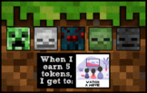 Token Board - Minecraft Mob Theme
