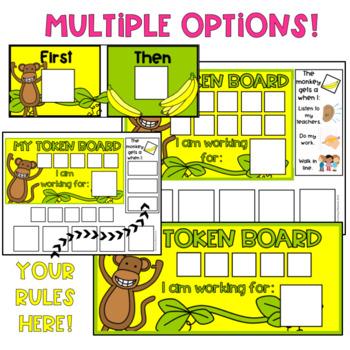 Token Board (Monkey Theme)