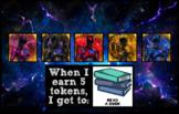 Token Board - Power Rangers Theme