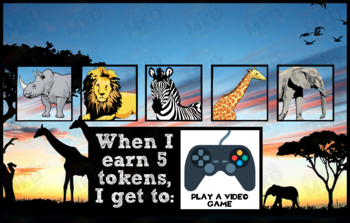 Token Board - Safari Theme