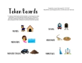 Token Board Set-Visual Reward System Behavior Chart