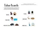 Token Board Set-Visual Reward System Behavior Chart