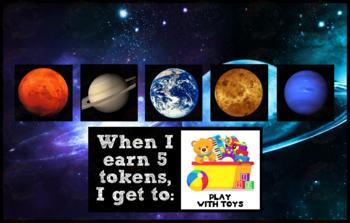 Token Board  - Space Theme