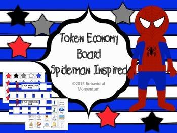 Token Board (Spiderman Inspired)