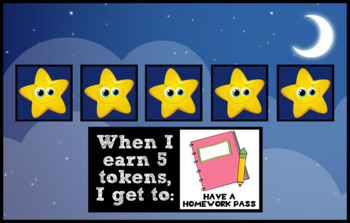 Token Board - Stars Theme