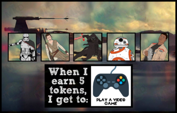 Token Board - The Force Awakens Theme