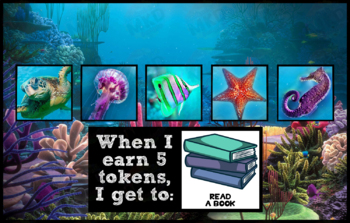 Token Board - Underwater Theme