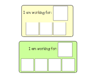 graphic about Token Board Printable called Token Message boards Celebs Worksheets Training Supplies TpT