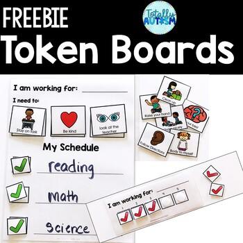 Editable Token Boards for Special Education
