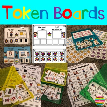 Token Boards Behavior Task Cards