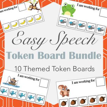 Token Boards Bundle- 10 Unique Token Boards!