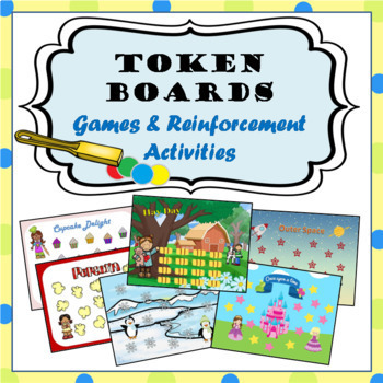 Token Reinforcement Game Boards: Fun Open-Ended Themes to Practice Any Goal!