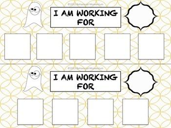 Token Boards (Halloween Theme)