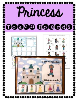 Token Boards: Princess