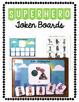 Token Boards: Superhero