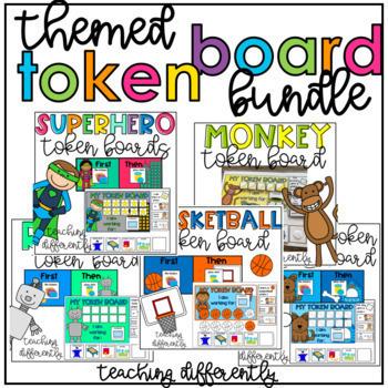Token Boards Themed Growing Bundle
