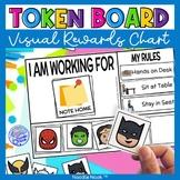 Token Boards Themed Visual for Behavior (Token Reward Syst
