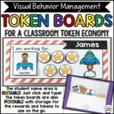 NEW! Token Boards -Visual Behavior Management  EDITABLE -
