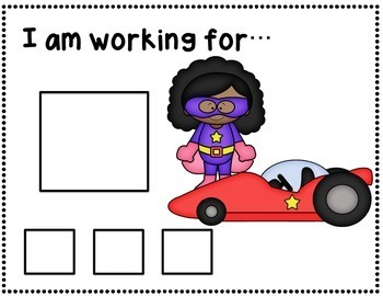 Token Boards (superhero theme) Positive Behavior Management System