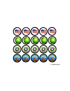 Token Boards with Themed Tokens/Behavior Tools for Autism