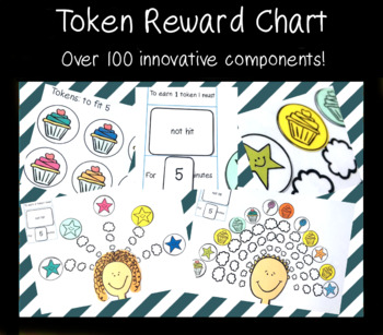 Token Chart - with 12 FREE character clipart!