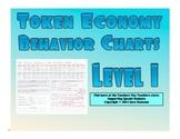 Token Economy Behavior Charts Level 1