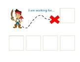Token Economy Board- Jake the Pirate