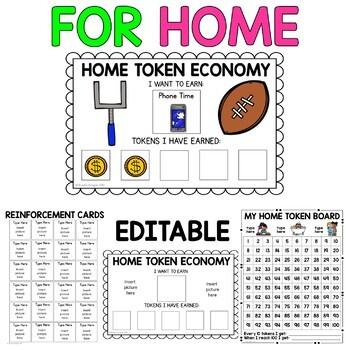 Token Economy For Home {Behavior Intervention}