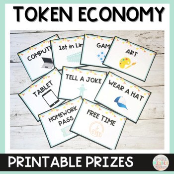 Token Economy PBIS Middle School Special Education