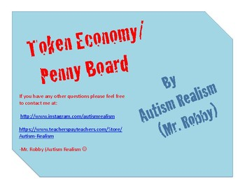 Token Economy - Penny Board incentive working for / towards