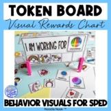 Token Boards- Themed Visual Behavior Modification Token Reward System