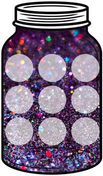 Token Jar - Fine Glitter Jar