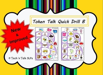 Token Talk Quick Drill for B