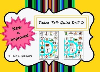 Token Talk Quick Drill for D