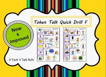 Token Talk Quick Drill for F
