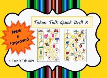 Token Talk Quick Drill for K
