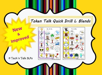 Token Talk Quick Drill for L Blends
