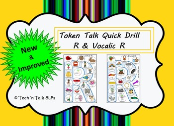 Token Talk Quick Drill for R and Vocalic R