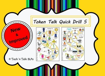 Token Talk Quick Drill for S